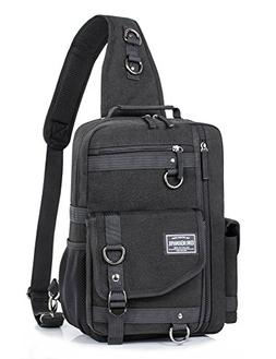 Messenger Bag for Men, Cross Body Shoulder Sling Bag Travel