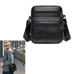 Messenger Bag Genuine Leather Briefcase Shoulder Satchel Bag