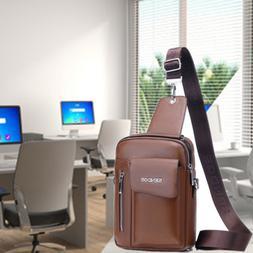 Messenger Bag Leather Briefcase Crossbody Shoulder Bags Casu