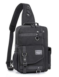 Messenger Bag Men Cross Body Shoulder Sling Bag Travel Outdo