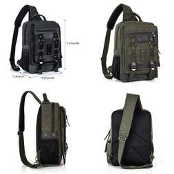 Messenger Bag Men Cross Body Shoulder Sling Bag Travel Outdo