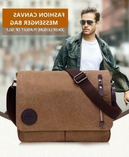 Messenger Bag School Shoulder Men's Vintage Crossbody Satche