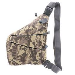 Messenger Bag Shoulder Chest Backpack Casual Travel Daypack