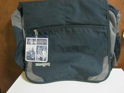 Jansport Messenger Bag Shoulder Cross Body Blue Padded Strap