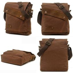 Aibag Messenger Bag  Vintage Small Canvas Shoulder Crossbody