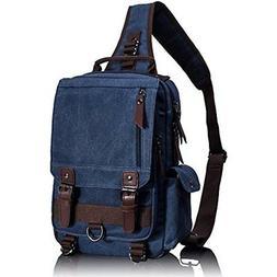 Messenger Bags Leaper Canvas One Strap Sling Cross Body Shou