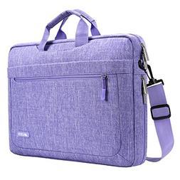 MOSISO Messenger Laptop Shoulder Bag Compatible 15-15.6 Inch