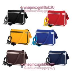 Bagbase Messenger Retro Shoulder Bag Uni/Fashion/Work/School