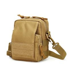 Military Sling Messenger Bag EDC Small Waist Pack Hiking Cam