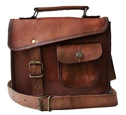 mni leather messenger bag shoulder