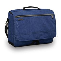 Samsonite Modern Utility Messenger Bag Laptop, True Navy, On