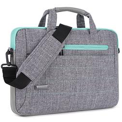 BRINCH 15-15.6 Inch Multi-Functional Suit Fabric Portable La