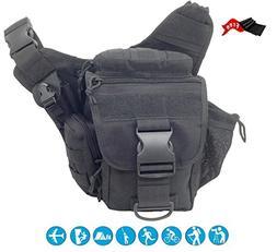 Injoy Multi-functional Tactical Camera Messenger Bag Militar
