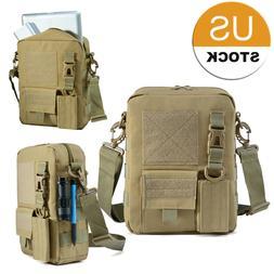 Multifunction Canvas Bag Men Messenger Bags Travel Military