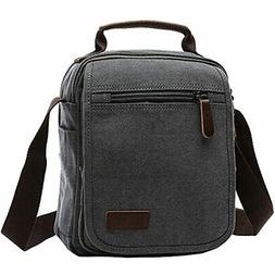 Mygreen Canvas Vintage Messenger Bag Small Travel School Cro