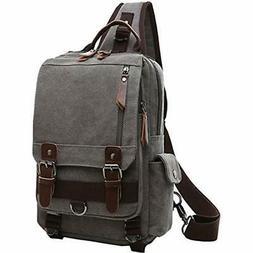 Mygreen Messenger Bags Sling Backpack For Men Women One Shou