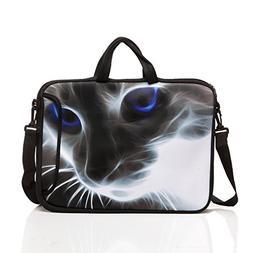 10-Inch Neoprene Laptop Tablet Shoulder Messenger Bag Case S