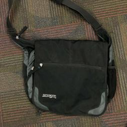 "JanSport Network Crossbody Messenger Bag Black Dedicated 15"""