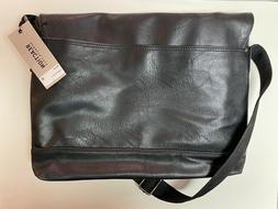 NEW! - Kenneth Cole Reaction Men's Pebbled Messenger Bag w/