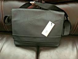 NEW Kenneth Cole Reaction Men's Pebbled Messenger Bag