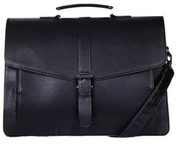*NEW* ESTARER Men's Leather Messenger Bag Travel Office Bu