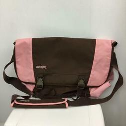 NEW JANSPORT Messenger Bag Laptop Notebook Sleeve Pink Sunse