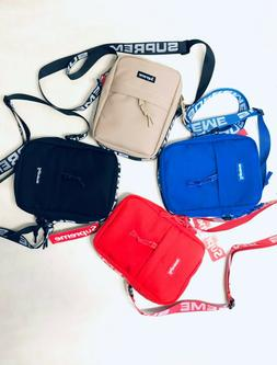 NEW Supreme Shoulder Bag SS18  Unisex Men Woman