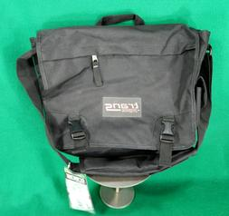 New Trans by Jansport black laptop messenger bag NWT