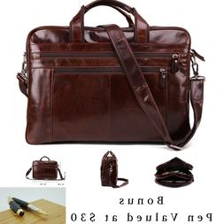 new vintage retro style genuine leather mens