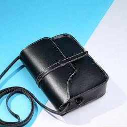 New Vintage Women Flap Fashion Casual Leather Shoulder <font