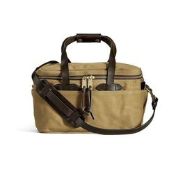 New with Tags Filson Rugged Twill Compartment Bag Small Tan