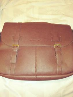 New without tags Sweetbriar Classic Laptop Messenger Bag Tan