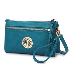 Dasein Women Handbags Soft Faux Leather Crossbody Bag Messen