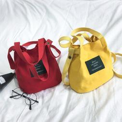 New Women's Canvas Handbag Shoulder Messenger Bag Satchel To