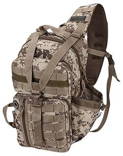 Nexpak Tactical Messenger Sling Bag Outdoor Camping Hiking T