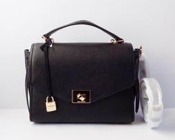 NWT Michael Kors Cassie Medium Top Handle Leather Messenger