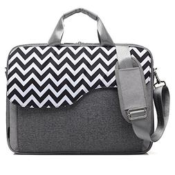 CoolBELL 15.6 Inch Nylon Laptop Bag Shoulder Bag with Strap