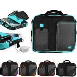 VanGoddy Nylon Tablet Sleeve Shoulder Messenger Bag Case For