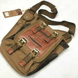 Original Kaukko Canvas Messenger Bag Shoulder Satchel Carry