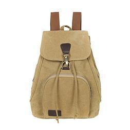 Outdoor Canvas Backpack Student Shoulder Backpack College St