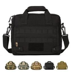 Outdoor Military Tactical Nylon Shoulder Bag Camping Briefca