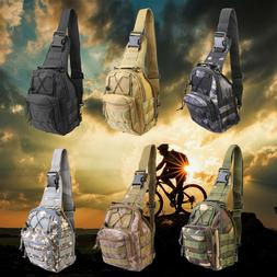 Shoulder Military Tactical Backpack Army Travel Camping Hiki