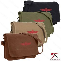 Over The Shoulder Canvas Messenger Bag - Rothco Canvas Israe