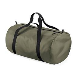 BagBase Packaway Barrel Bag/Duffel Water Resistant Travel Ba