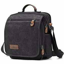Plambag Canvas Messenger Bag Small Travel School Crossbody F