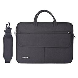 Mosiso Polyester Flapover Compartment Style Laptop Shoulder