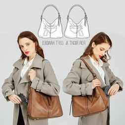 Portable Leather Vintage Women Messenger Crossbody Shoulder