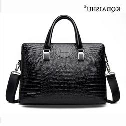 Promotions 2019 New Come Men's PU Leather Crocodile pattern