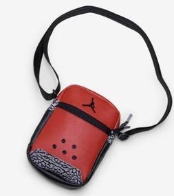 Jordan Retro 3 Unite Bag Red Shoulder Bag Festival Bag Jorda