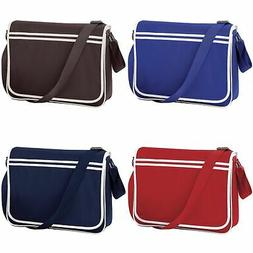 Bagbase Retro Adjustable Messenger Bag